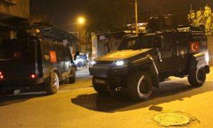 Yine Zırhlı Araç Terörü
