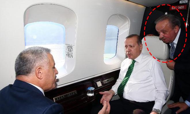 """""""Milletin A… Koyacağız"""" Diyen Mehmet Cengiz Erdoğan'ın Helikopterinde"""