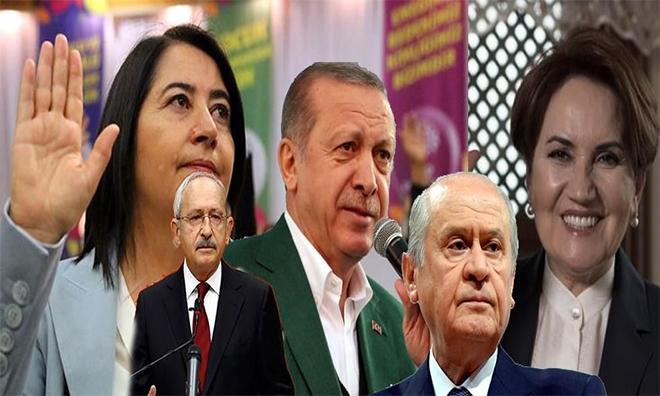 AKP Eriyor, MHP Barajın Altında, İYİ Parti 3. Sırada