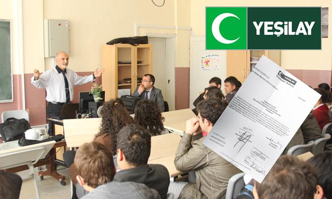 Yeşilay'dan Milli Eğitime Camiye Gidin Talimatı