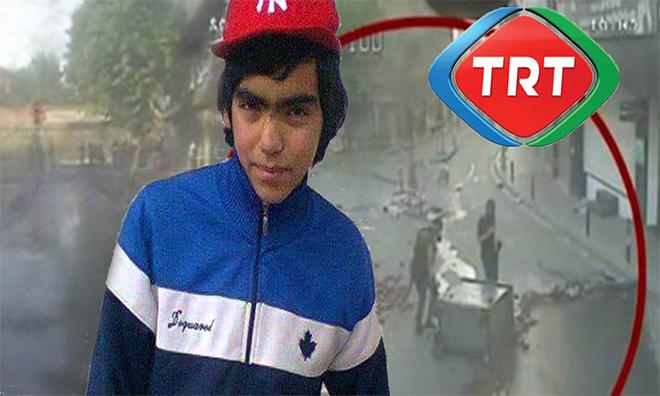TRT'den Berkin Elvan Görüntüleri İçin 'Yetersiziz' Yazısı