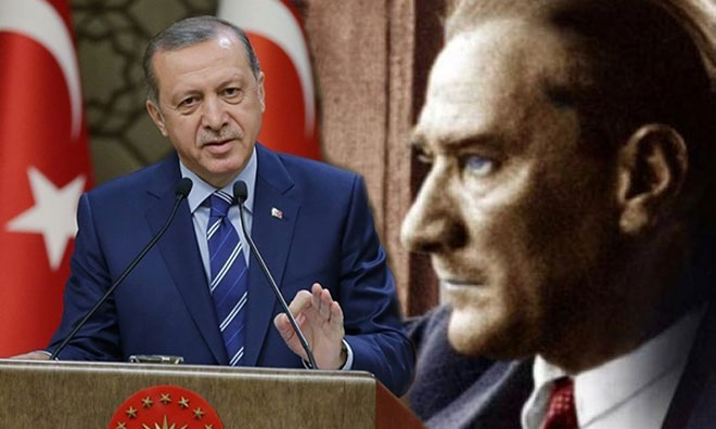 Ve Erdoğan Atatürk'ü Hatırladı