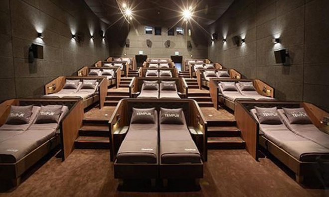 İstanbul'da Yataklı Sinema Salonu Açıldı