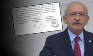 CHP'den Manidar Kılıçdaroğlu Önergesi