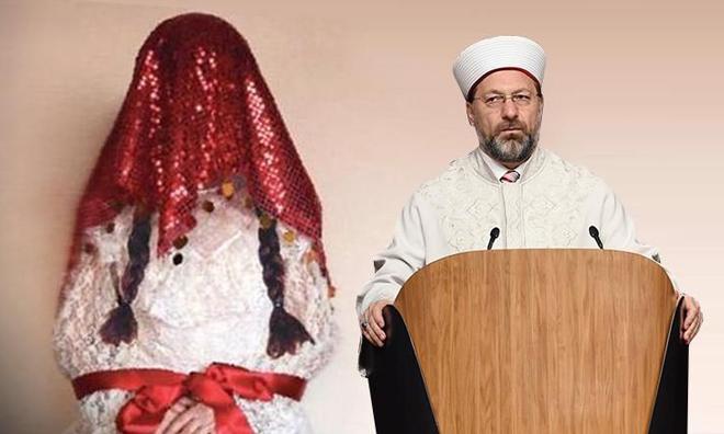 Diyanetten Skandal Fetva: 9 Yaşındaki Kız Evlenebilir, Gebe Kalabilir