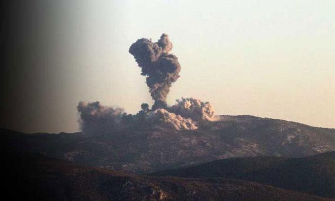 Afrin'e Hava Operasyonu Başladı