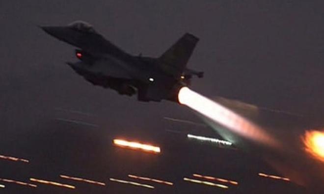 Rusya İzin Verdi… Uçaklar Afrin'de Altı Hedefi Vurdu