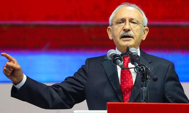 CHP Bir Kez Daha Kılıçdaroğlu Dedi