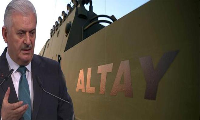 Binali Yıldırım'dan 'Yerli ve Milli' Tank Altay İtirafı