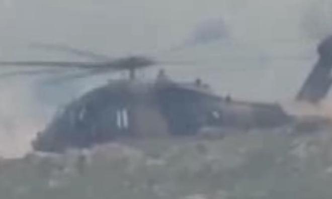Afrin'de TSK'ya Ait Helikopter Düştü: 2 Şehit