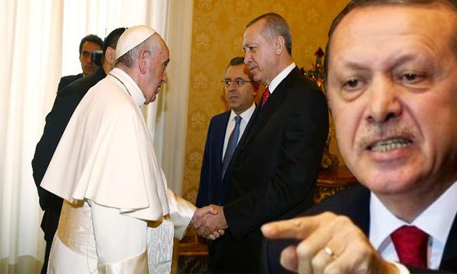 1 Papa 2 Erdoğan