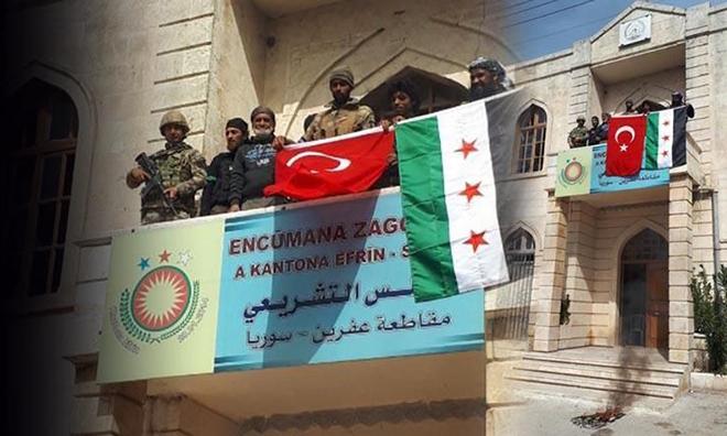 TSK ve ÖSO Afrin'de Kontrolü Sağladı