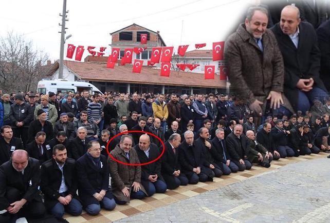 'Cumhur İttifakı' Şehit Cenazesinde  Böyle 'Sırıttı'