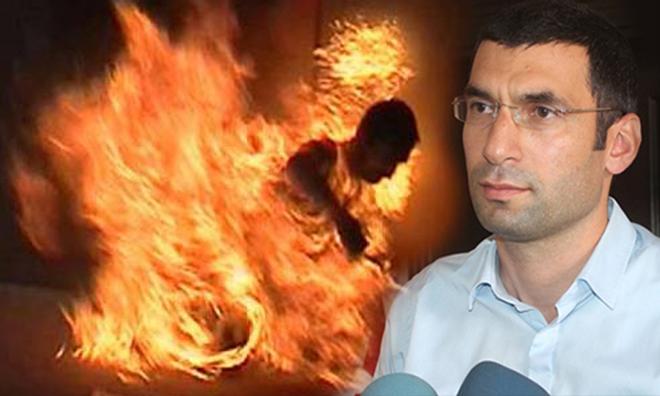 SEGBİS ile Katıldığı Duruşmada Kendisini Ateşe Verdi