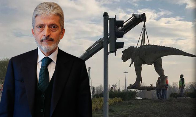 """""""Ben İşime Bakarım. Dinozormuş, Fıskiyeymiş…"""""""