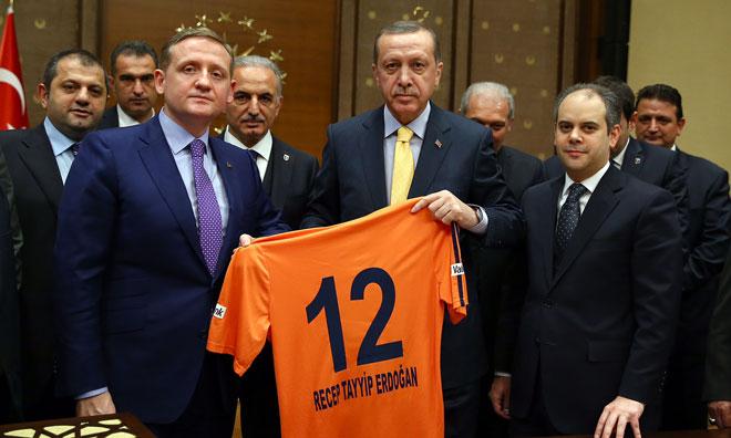 Erdoğan'dan Damadın Takımı İçin Ak Gençliğe Çağrı