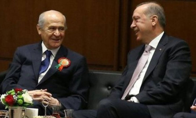 Yine Aynı Taktik… Erdoğan Bahçeli'yle Nabız Mı Yokladı?