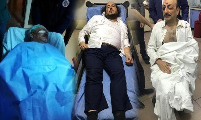 Afiş Asan SP'lilere MHP'liler Saldırdı: Vekil Adayı Dahil Yaralılar Var