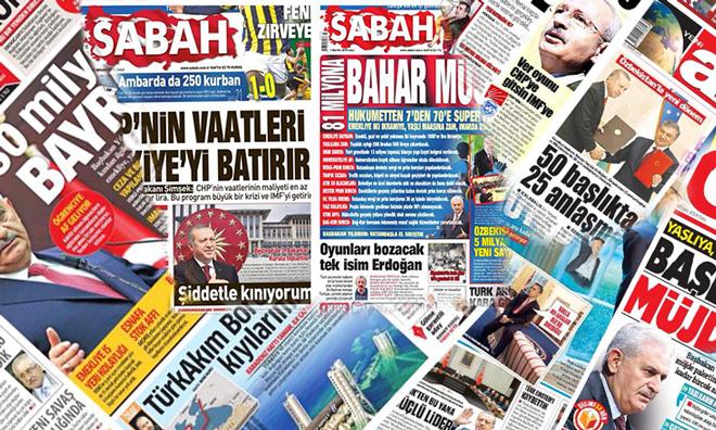 AKP Medyası Pespayeliği