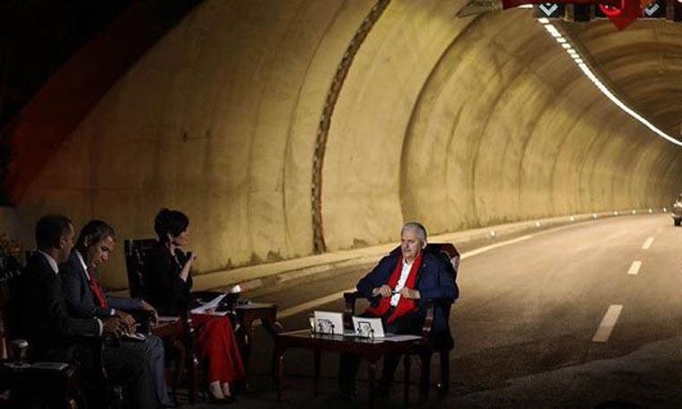 Tüneli Değil Açılışı Yetiştirdiler